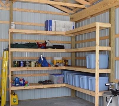 Best DIY Garage Storage with Rack 10