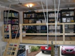 Best DIY Garage Storage with Rack 13