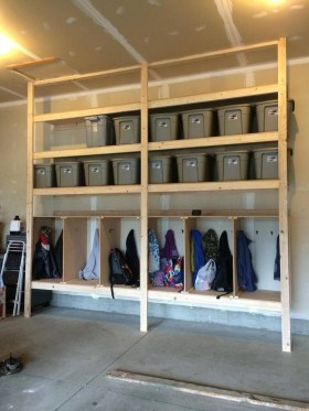 Best DIY Garage Storage with Rack 21