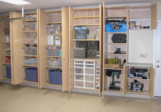 Best DIY Garage Storage with Rack 22
