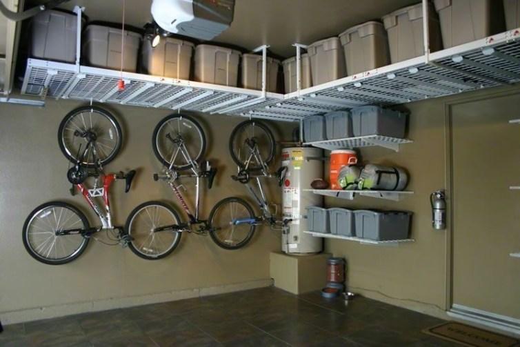Best DIY Garage Storage with Rack 30