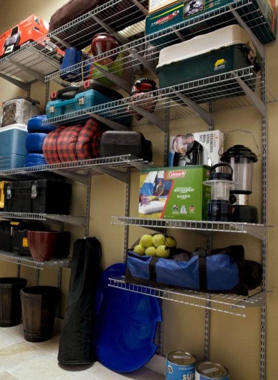 Best DIY Garage Storage with Rack 46