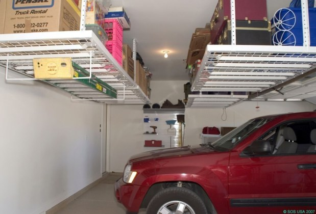 Best DIY Garage Storage with Rack 47