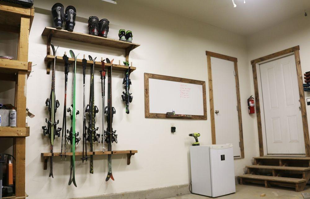 Best DIY Garage Storage with Rack 58