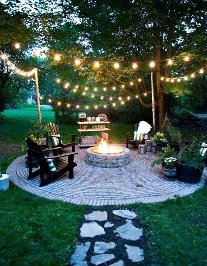 Best Outdoor Fire Pits Decorating Ideas For Spring 04