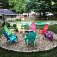 Best Outdoor Fire Pits Decorating Ideas For Spring 11