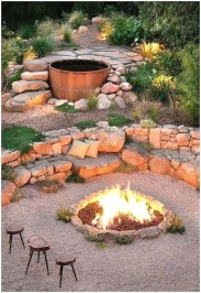Best Outdoor Fire Pits Decorating Ideas For Spring 20