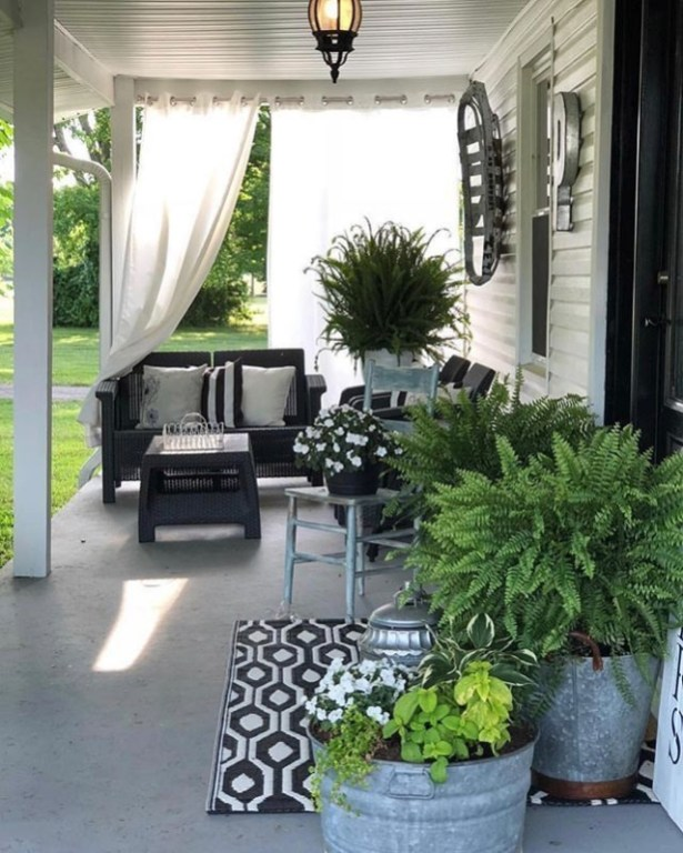 Best Patio Decorating Ideas for Every Style of House 57
