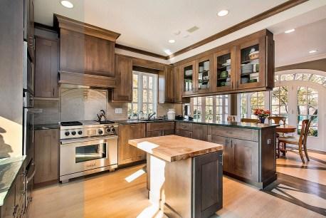 Classy Kitchen Floor Ideas with Hardwood 06