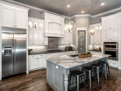 Classy Kitchen Floor Ideas with Hardwood 08