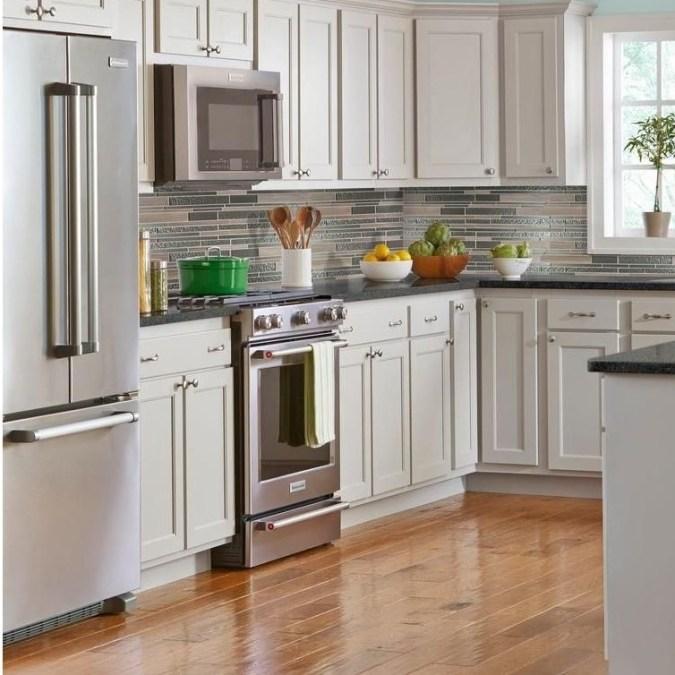 Classy Kitchen Floor Ideas with Hardwood 09