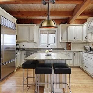 Classy Kitchen Floor Ideas with Hardwood 12