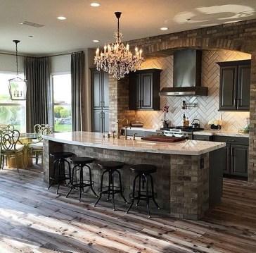 Classy Kitchen Floor Ideas with Hardwood 28