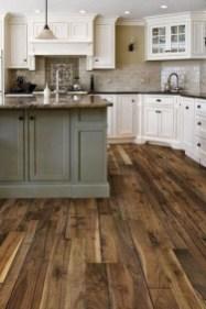 Classy Kitchen Floor Ideas with Hardwood 31