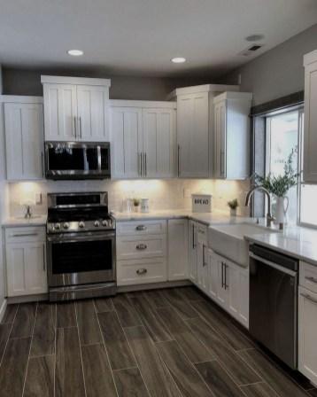 Classy Kitchen Floor Ideas with Hardwood 37