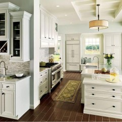 Classy Kitchen Floor Ideas with Hardwood 40