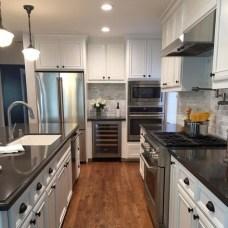 Classy Kitchen Floor Ideas with Hardwood 42