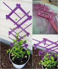 Cool DIY Garden Trellis Ideas 01