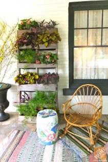 Cool DIY Vertical Garden for Front Porch Ideas 11