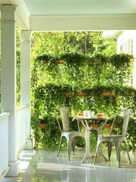 Cool DIY Vertical Garden for Front Porch Ideas 15