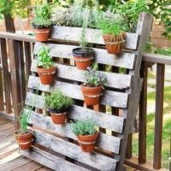 Cool DIY Vertical Garden for Front Porch Ideas 34