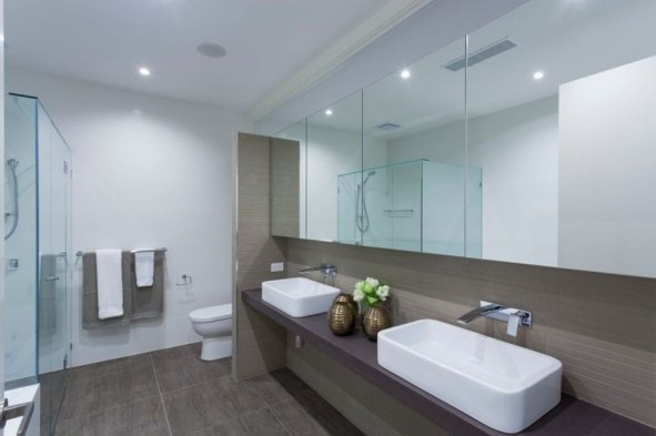 Cool Minimalist Bathroom to Add to Your Dream Home Decor 06