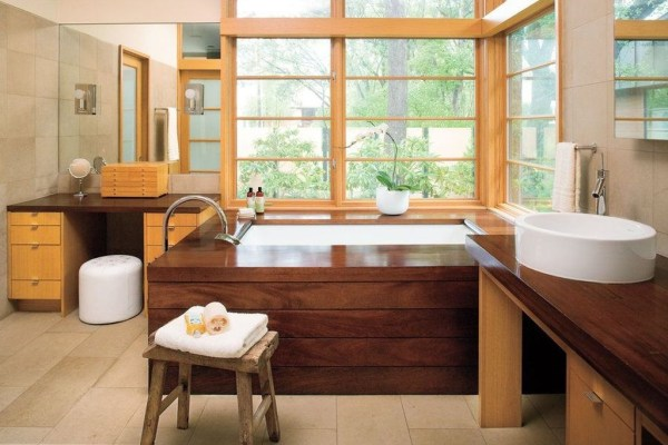 Cool Minimalist Bathroom to Add to Your Dream Home Decor 40