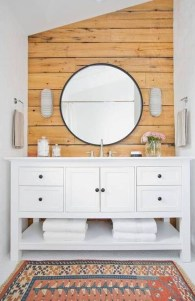 Cool Minimalist Bathroom to Add to Your Dream Home Decor 47