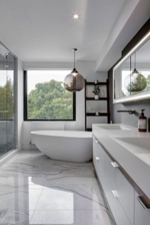 Cool Minimalist Bathroom to Add to Your Dream Home Decor 50