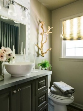 Cool Minimalist Bathroom to Add to Your Dream Home Decor 53