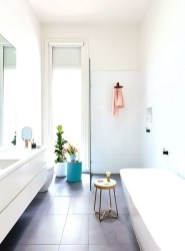 Cool Minimalist Bathroom to Add to Your Dream Home Decor 59