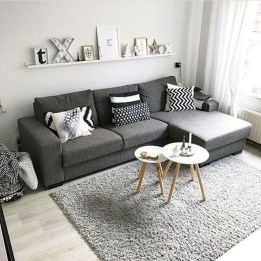Cozy Scandinavian Living Room Designs Ideas 02