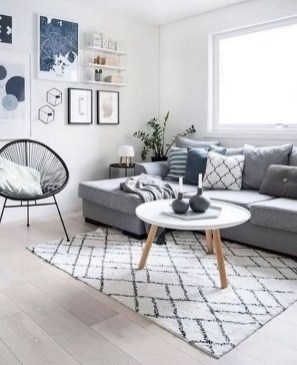 Cozy Scandinavian Living Room Designs Ideas 16