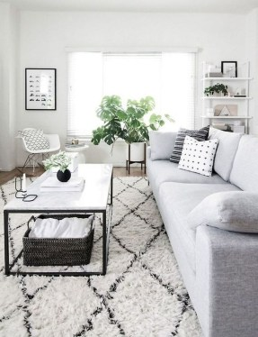 Cozy Scandinavian Living Room Designs Ideas 18