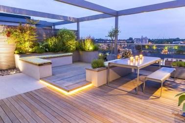Inspiring Garden Terrace Design Ideas with Awesome Design 48