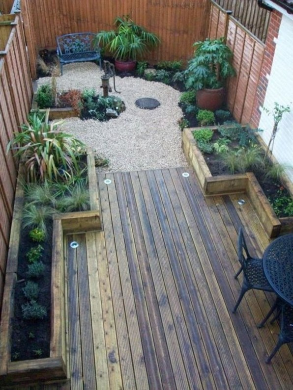 Inspiring Garden Terrace Design Ideas with Awesome Design 60