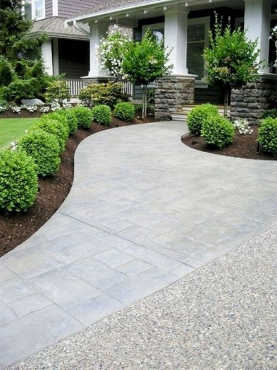 Landscaping Front Yard Ideas to Beautify Your Garden Design 50
