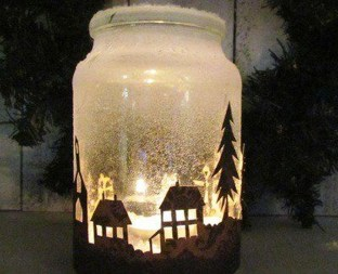 Outstanding DIY Crafts Project Ideas with Mason Jars 39