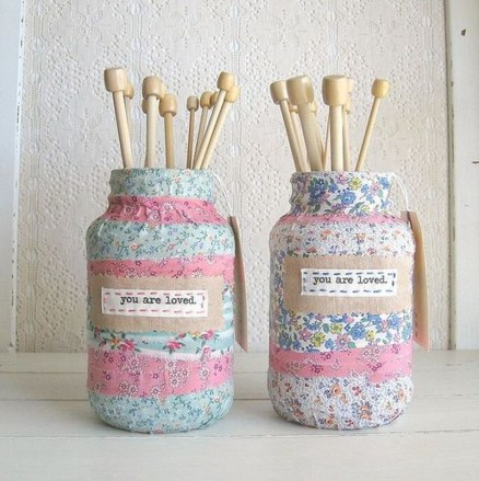 Outstanding DIY Crafts Project Ideas with Mason Jars 50