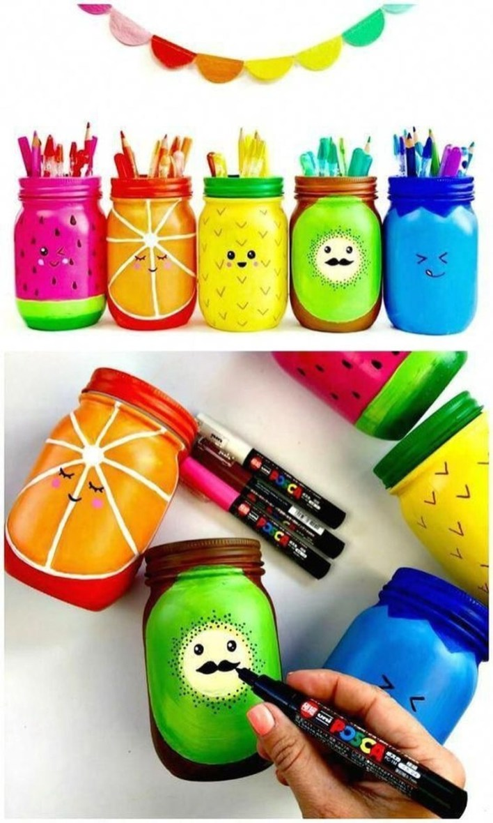 Outstanding DIY Crafts Project Ideas with Mason Jars 57