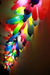 Recycled and Reuse Empty Plastic Bottles Into a String of Lights Ideas 27