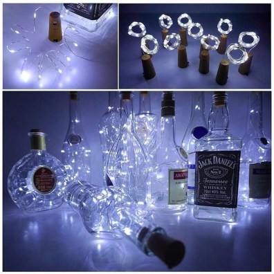 Recycled and Reuse Empty Plastic Bottles Into a String of Lights Ideas 32