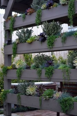 Stunning DIY Vertical Garden Design Ideas 06