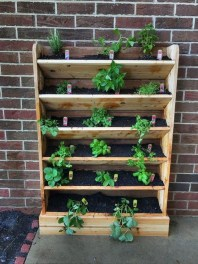Stunning DIY Vertical Garden Design Ideas 21