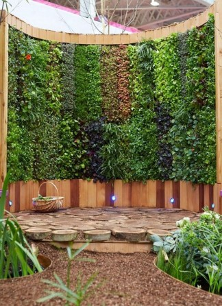 Stunning DIY Vertical Garden Design Ideas 27