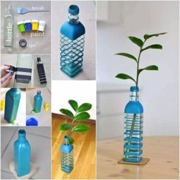 Ways to Reuse and Recycle Empty Plastic Bottles in Your Home Decoration 04