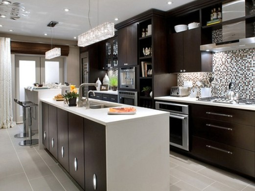 Awesome Kitchen Island Design Ideas with Modern Decor & Layout 08