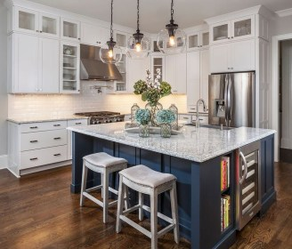 Awesome Kitchen Island Design Ideas with Modern Decor & Layout 13