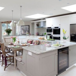 Awesome Kitchen Island Design Ideas with Modern Decor & Layout 44