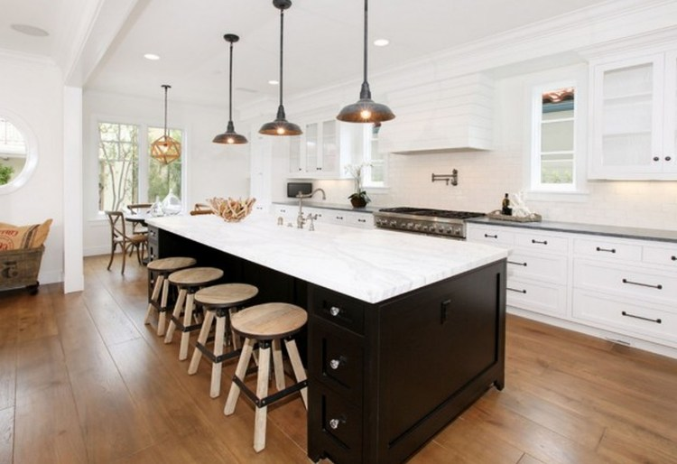 Awesome Kitchen Island Design Ideas with Modern Decor & Layout 51